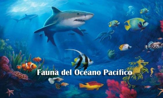 Fauna del Océano Pacifico