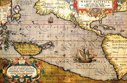 Quién descubrió el océano Pacifico