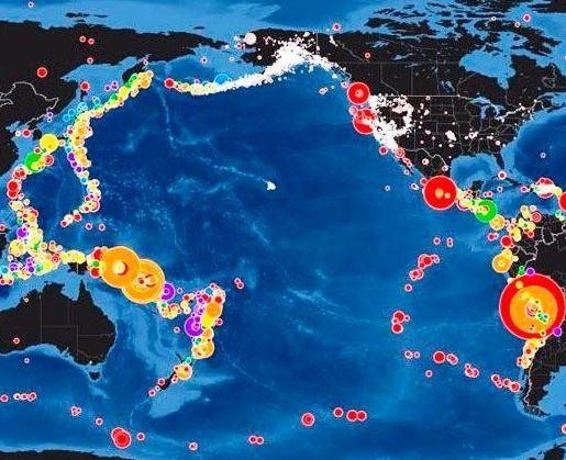 ¿Qué es el cinturón de fuego del Pacífico?